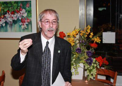 2009-02-04 Notre président, Michel Flamand