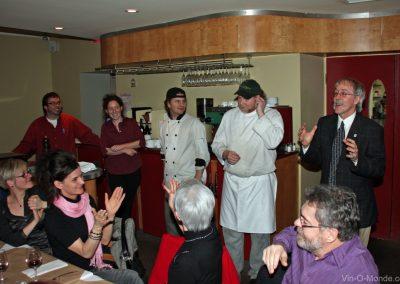 2009-02-04 Merci à toute l'équipe de La Girolle !