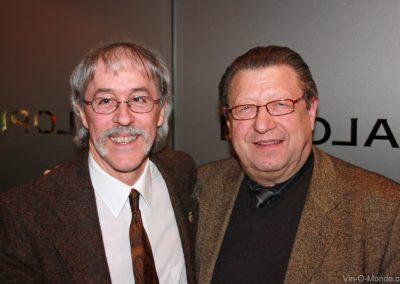 2009-03-12 Notre président Michel Flamand et notre invité Jean-Marie Bourgeois