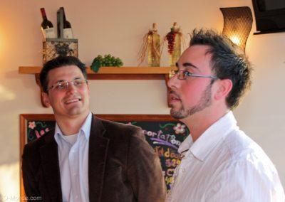 2009-03-24 Fabrice Durou et notre vice-président, Sébastien Villeneuve