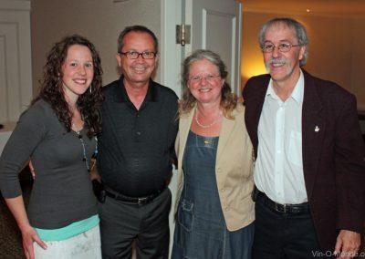 2010-05-28 Krystel Flamand, Yvon Godbout, Sylvie Grenier et Michel Flamand
