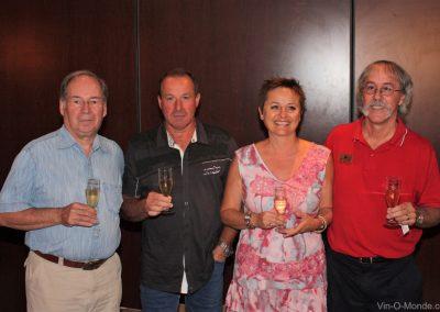 2010-08-06 Claude Coulombe, Hugo Arguti et son épouse Marie-Christine, Michel Flamand