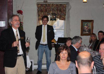 2010-09-14 Michel Flamand accueille notre invité, M. Alberto Buratto