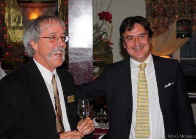 2010-09-14 Notre président Michel Flamand accompagné de notre invité Alberto Buratto