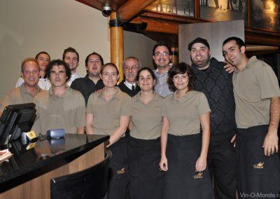2010-11-05 Merci à toute l'équipe du Bistro La Cohue