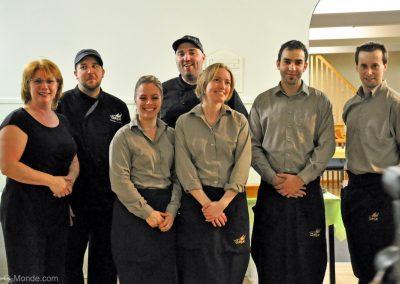 2011-04-29 Merci à toute l'équipe du service de traiteur du Bistro La Cohue !