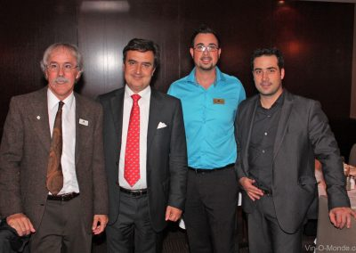 2011-09-22 Michel Flamand, Alberto Buratto, Sébastien Villeneuve et Maxime Dupont