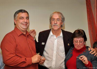 2011-10-28 Félicitations Luc et Gisèle !