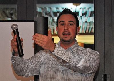 2012-03-05 Notre vice-président, Sébastien Villeneuve