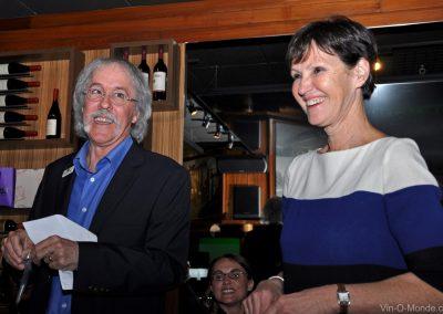 2012-04-10 Michel Flamand et notre invitée, Annick Tiburce