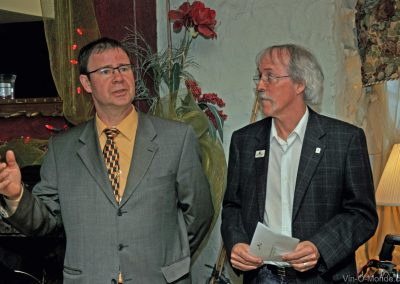 2012-04-18 Pierre-Martin Belleville et notre président, Michel Flamand