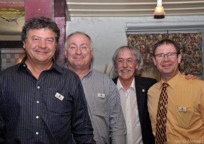 2012-04-18 Jean-Marc Laffitte, Charles Hours, Michel Flamand et Pierre-Martin Belleville
