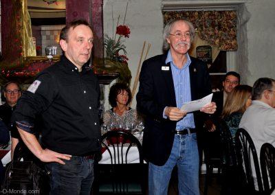 2013-02-20 Xavier Frissant et notre président, Michel Flamand