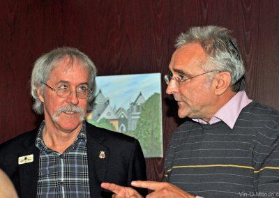 2013-11-20 Notre président Michel Flamand accompagné de Jean-Marc Amez-Droz