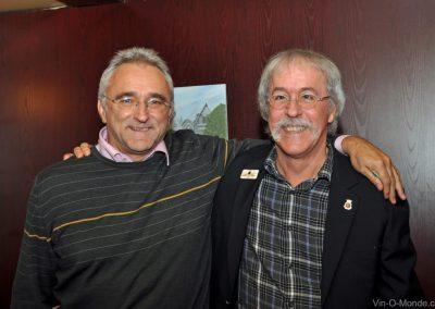 2013-11-20 Jean-Marc Amez-Droz et notre président, Michel Flamand