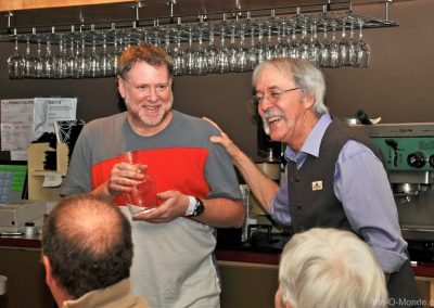 2014-02-05 Merci à Guy Théberge, chef et propriétaire du restaurant La Girolle !
