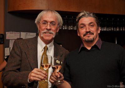 2014-11-04 Notre prédent, Michel Flamand, accompagné de Jean-Louis Smyl