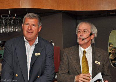 2014-11-04 Dominique Hébrard et notre président, Michel Flamand
