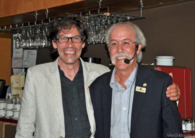 2015-08-26 Xavier Conti et notre président, Michel Flamand