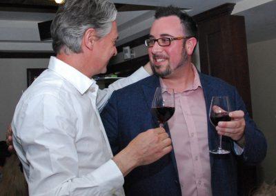 Aníbal Coutinho et notre vice-président, Sébastien Villeneuve