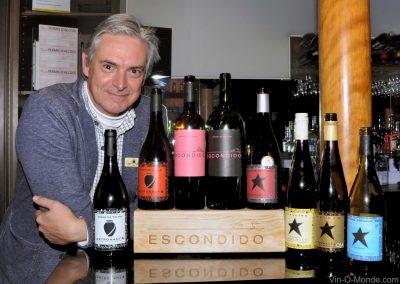 2018-04-06 Aníbal Coutinho et ses vins dégustés au Bistro La Cohue