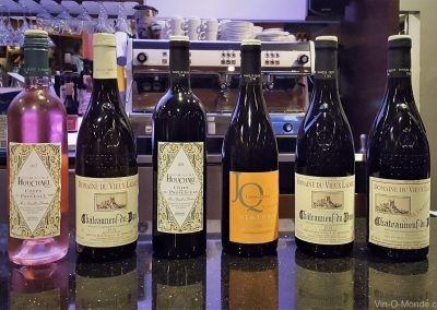 2018-10-29 Les vins à déguster au Bistro La Cohue