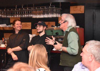 2019-04-24 Merci aux chefs du restaurant La Girolle !