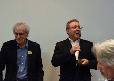 2019-10-17 Michel Flamand, Réal Wolfe et Mario Olivero
