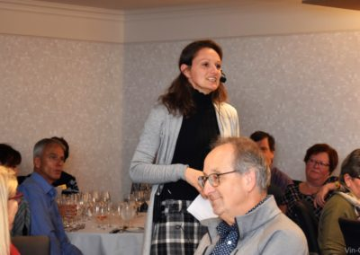 2019-10-30 Florence Quiot au restaurant La Fenouillière