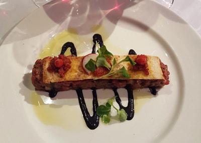 2020-02-05 Tartare de bœuf aux tomates séchées, crème d'olive