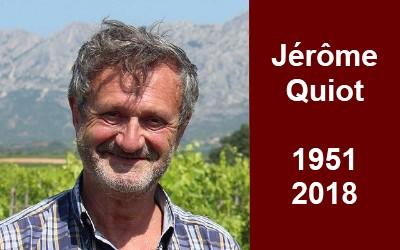 Décès de M. Jérôme Quiot, vigneron de Châteauneuf-du-Pape